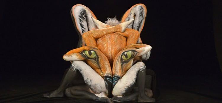 Body painting czyli jak przemienić człowieka w zwierzę?